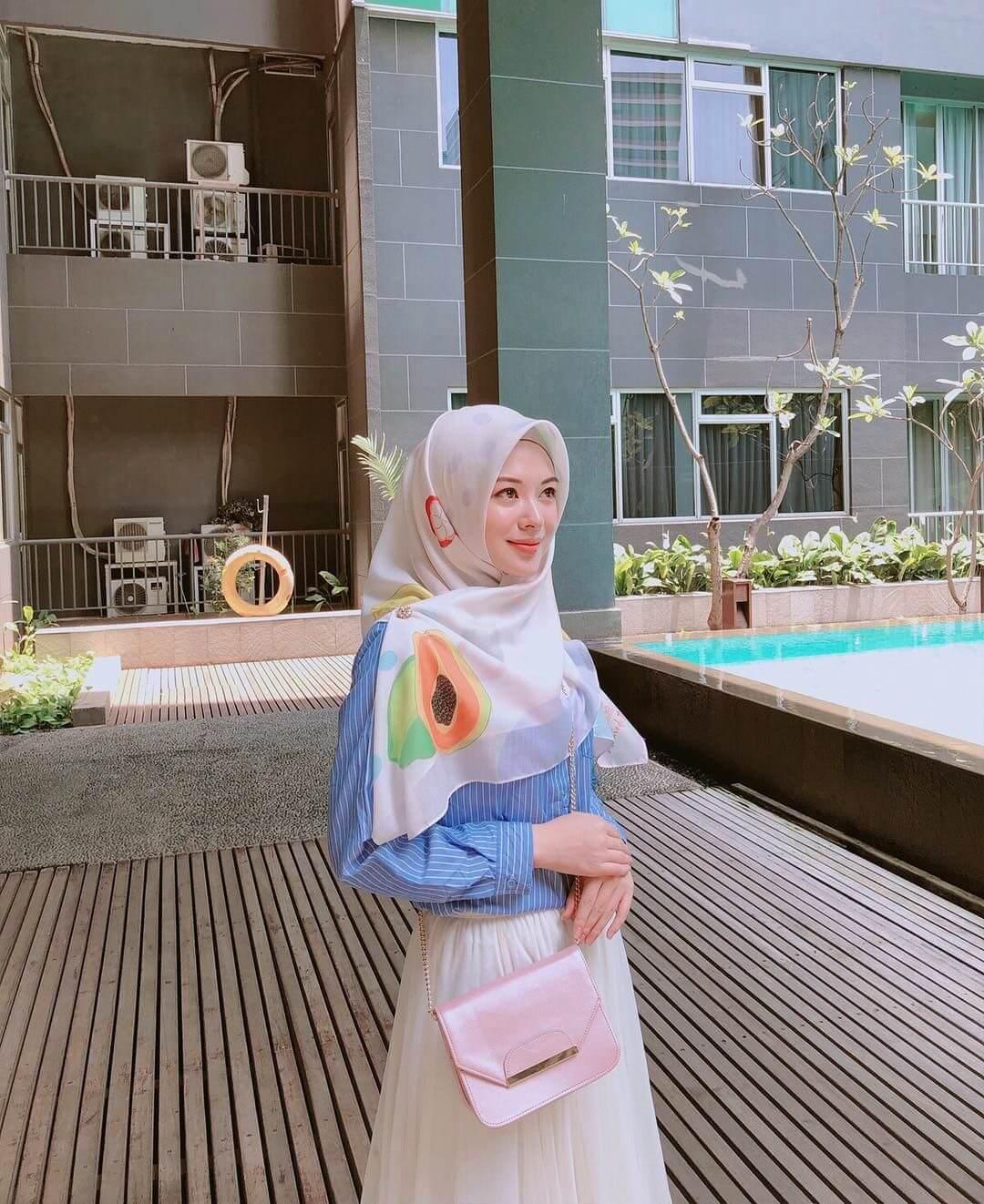tips hijab segitiga
