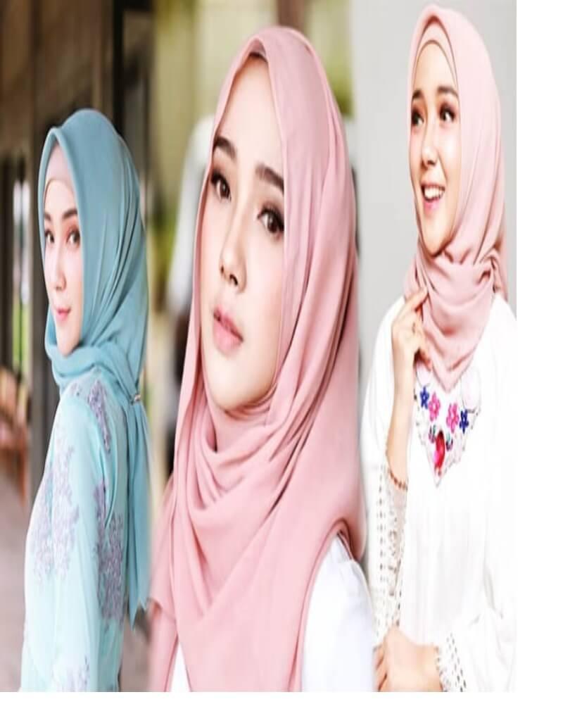bahan hijab yang nyaman