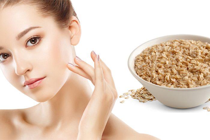 manfaat oatmeal untuk kulit