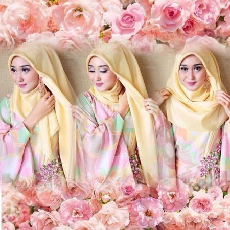 gaya hijab segiempat dian pelangi