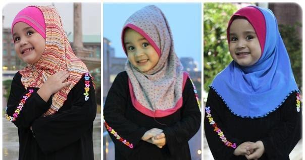 hijab anak lucu
