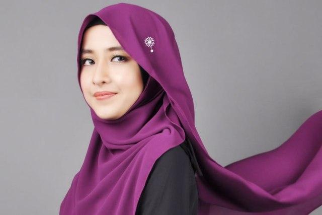 gaya hijab sesuai wajah