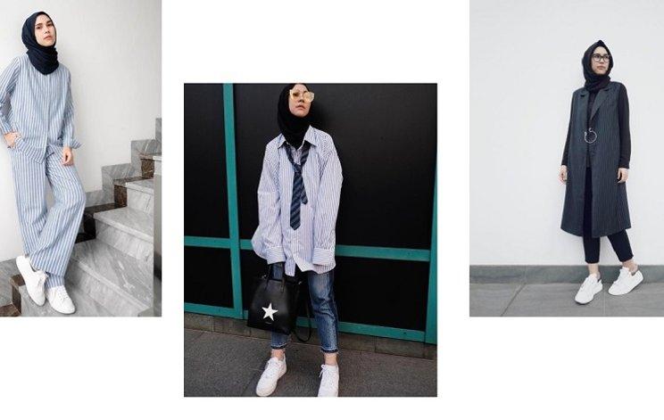 hijab casual untuk wanita tomboy