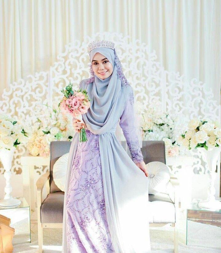 Tutorial Hijab Pengantin Syar'i