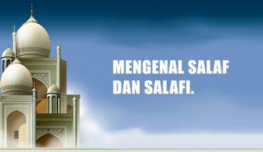 salaf-dan-salafi
