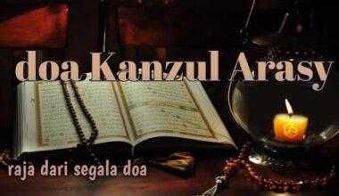 keutamaan-doa-kanzul-arsy